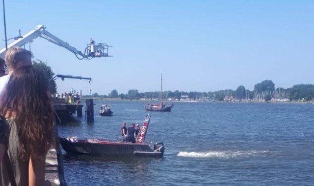 Zoektocht drenkeling IJsselkade Kampen | 112 Overijssel
