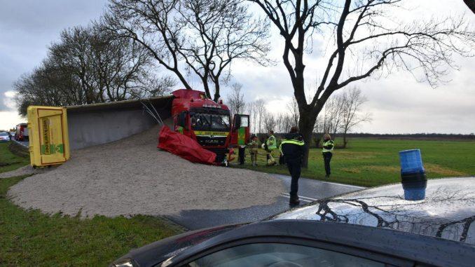 Gewonde Bij Ernstig Ongeval Op N375 Tussen Meppel En Zwartsluis